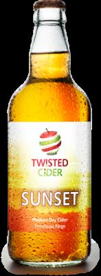 Twisted Cider Sunset Cider