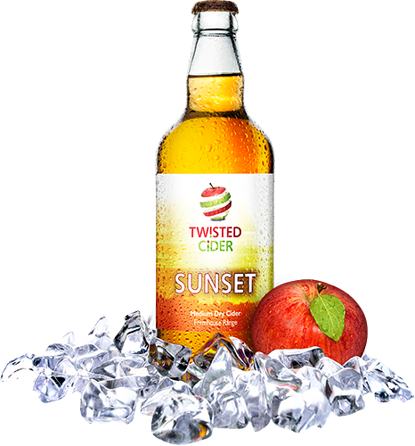 Twisted Cider Sunset