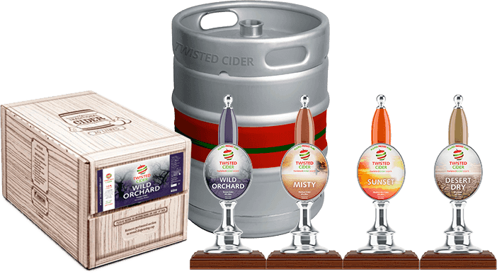 Twisted Cider Product Altogether