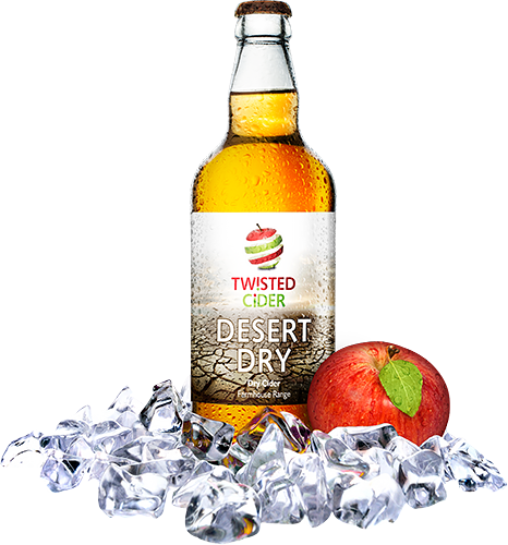 Twisted Cider Desert Dry