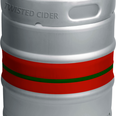 Twisted Cider Keg