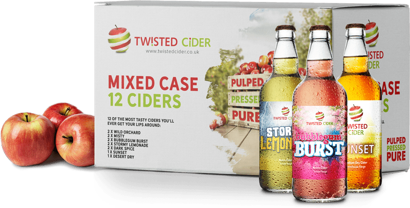 Twisted Cider Mixed Case