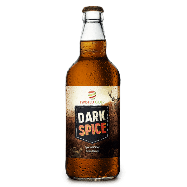 Twisted Cider Bottle Dark Spice