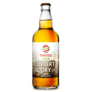 Twisted Cider Bottle Desert Dry