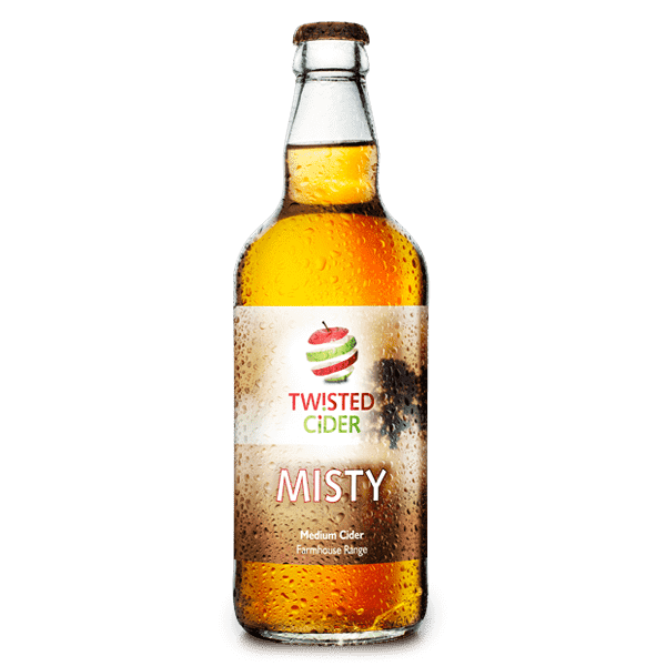 Twisted Cider Bottle Misty