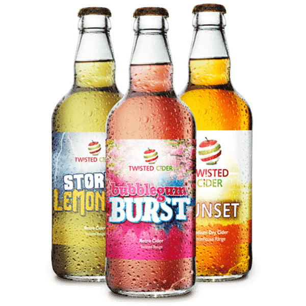 Twisted Cider Bottle Mixed Case