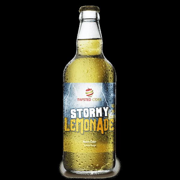 Twisted Cider Bottle Stormy Lemonade