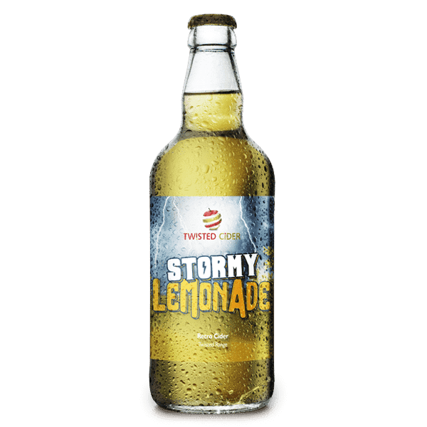 Twisted Cider Bottle Stormy Lemonade