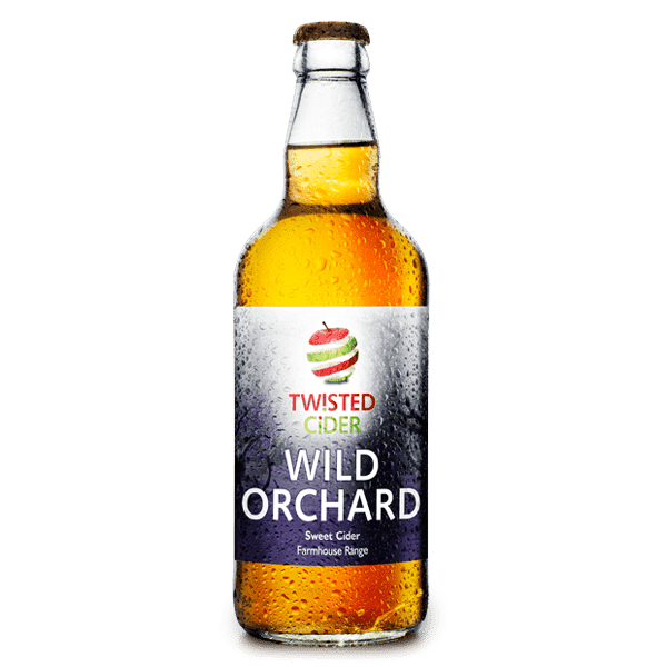 Twisted Cider Bottle Wild Orchard
