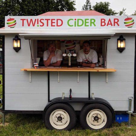 Twisted Cider Mobile Bar Main Image