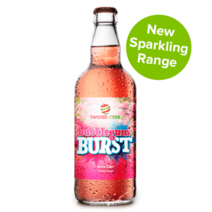 Twisted Cider Bottle Bubblegum Burst Sparkling