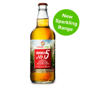 TC Twisted Cider Premium No 5 Bottle