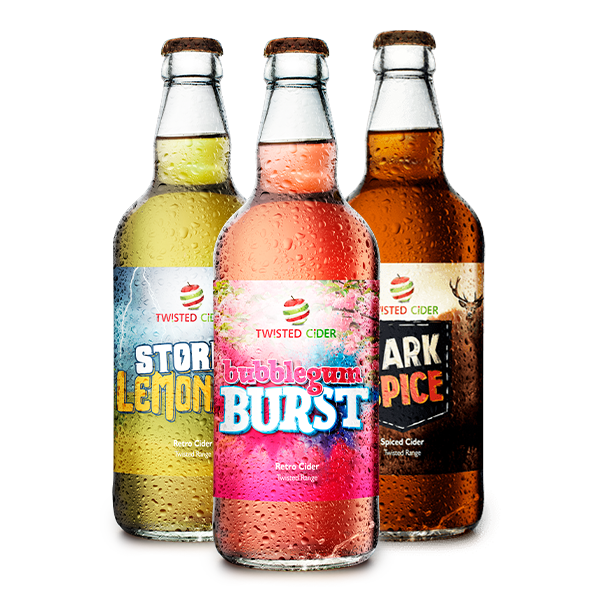 Twisted Cider Flavoured Mixed Case 220x600